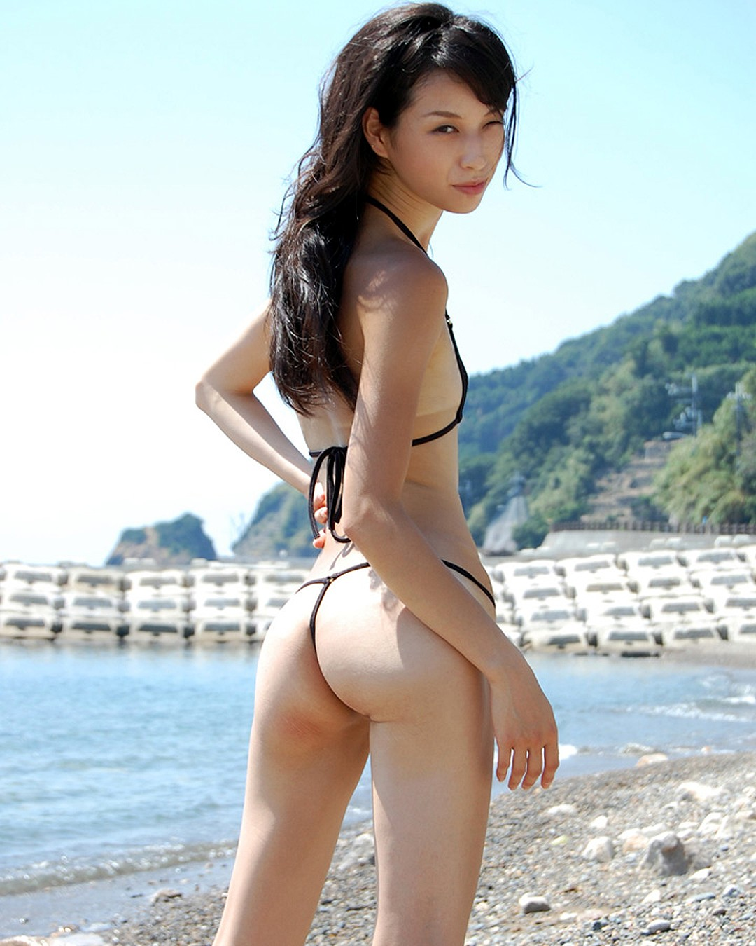 Tall thin asian nude apologise that