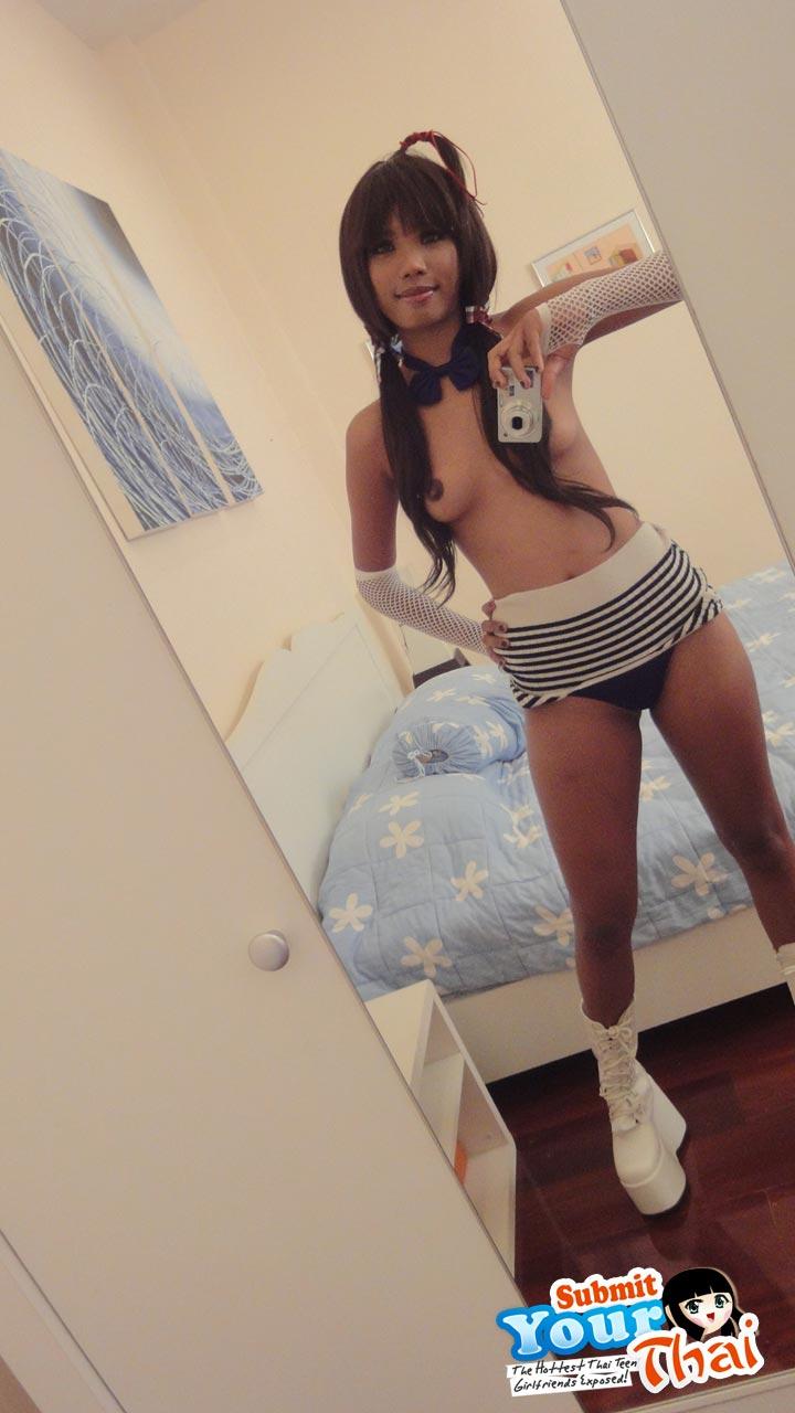 Ung tonåring asiatisk pussy